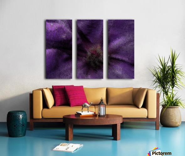 Majesty Split Canvas print