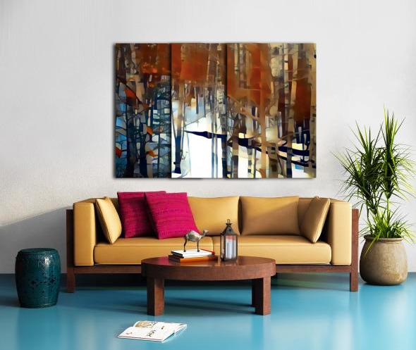 aspen dreams Split Canvas print