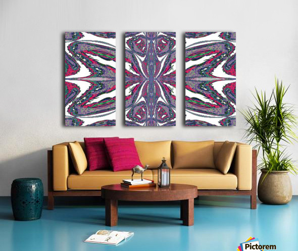 Butterfly of the East  Split Canvas print