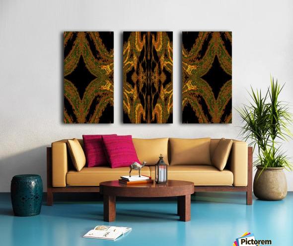 Hidden Butterfly 2 Split Canvas print