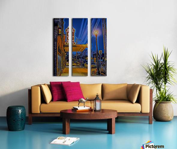 Puttin on the Ritz Split Canvas print