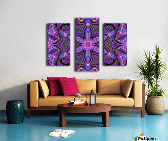 Psychedelic Jasmine 1 Canvas print