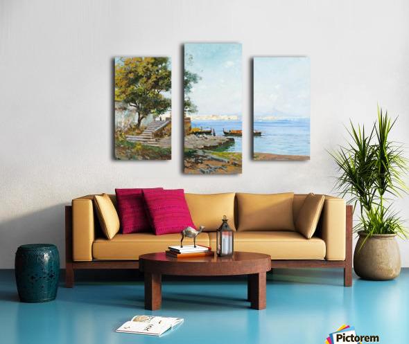 La baie de Naples Canvas print