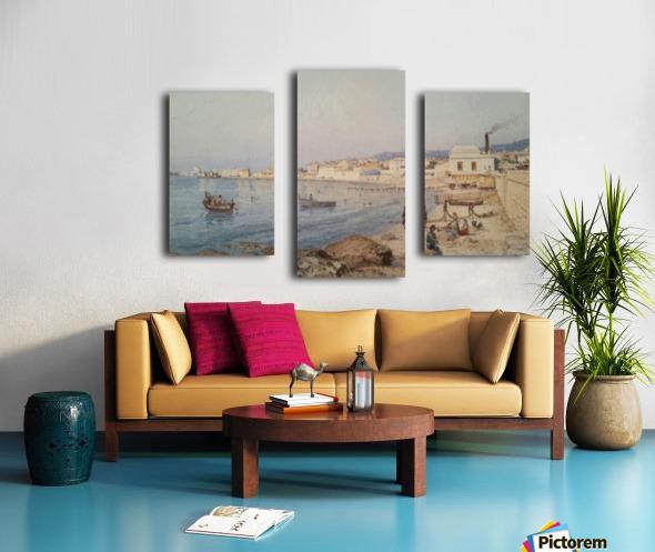 Marina di Napoli Canvas print