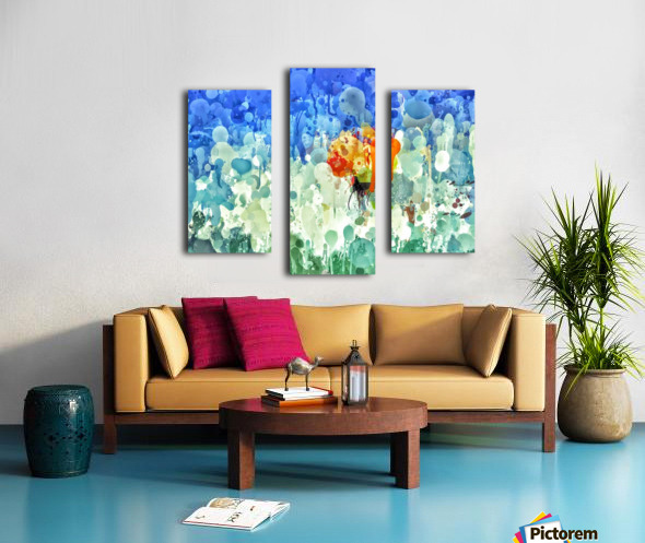 repixdrip Canvas print