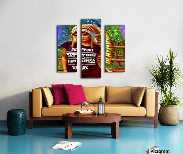tatsIndian2 Canvas print
