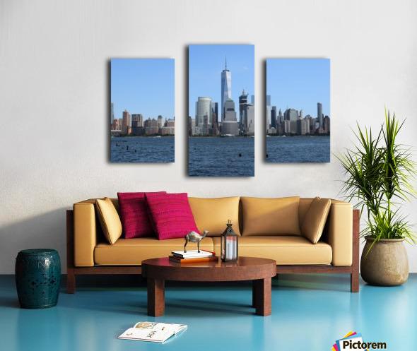 MANHATTAN, NEW YORK Canvas print