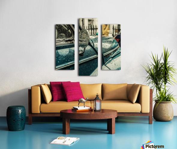 London Rain Canvas print