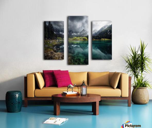 Azul turquesa. Canvas print
