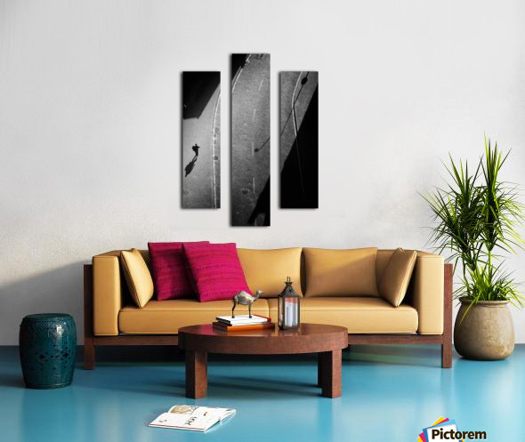 dancing silhouettes Canvas print