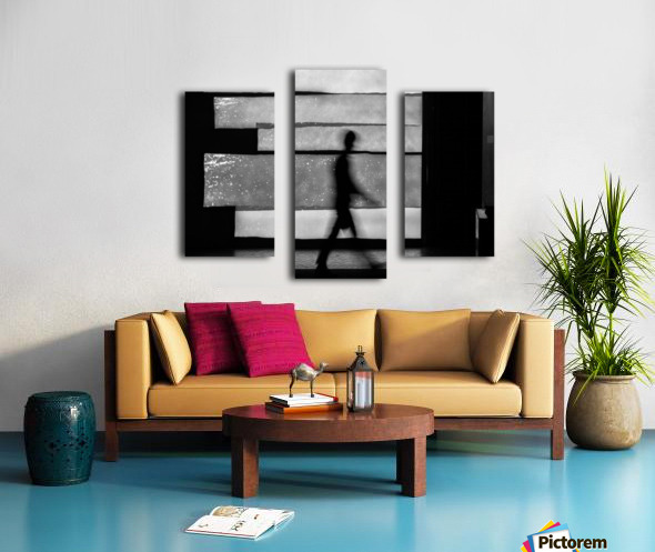 in squares Canvas print