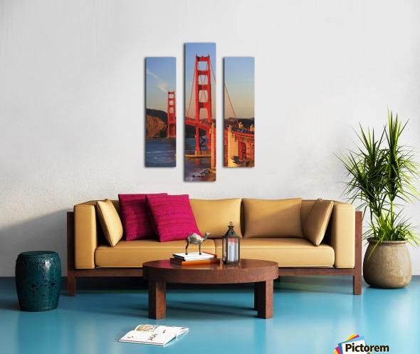 Golden Gate Bridge; San Francisco, California, United States of America Canvas print