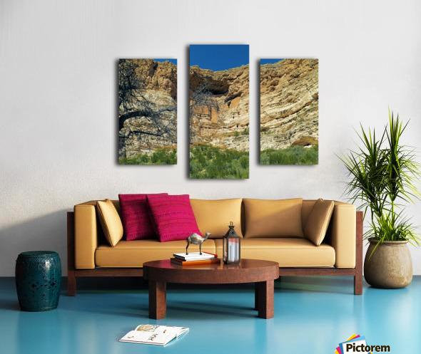 Montezuma's Castle-6 Canvas print