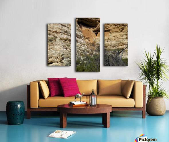 Montezuma's Castle-5 Impression sur toile