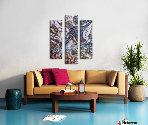 shiba  Canvas print