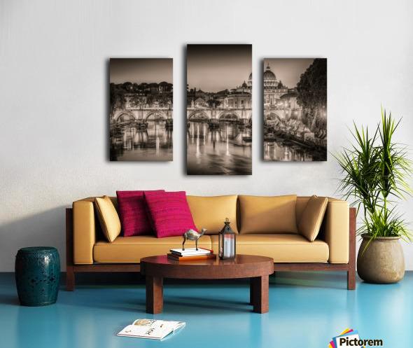 Rome Canvas print