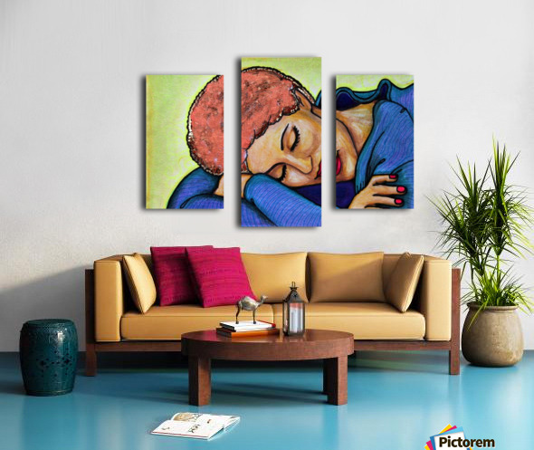 Siesta Ori Canvas print