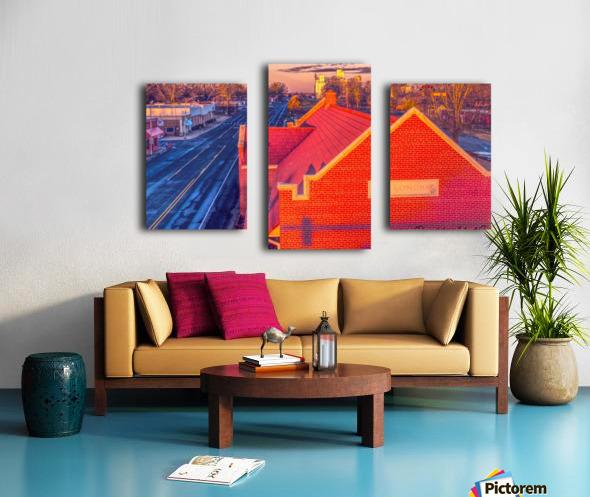 Lonoke, AR   Red Oak  Canvas print