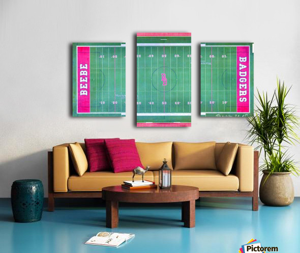 Beebe, AR | Badger Football Field Canvas print
