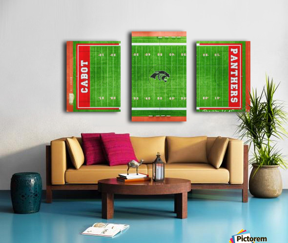 Cabot, AR   Panther Football Field Canvas print