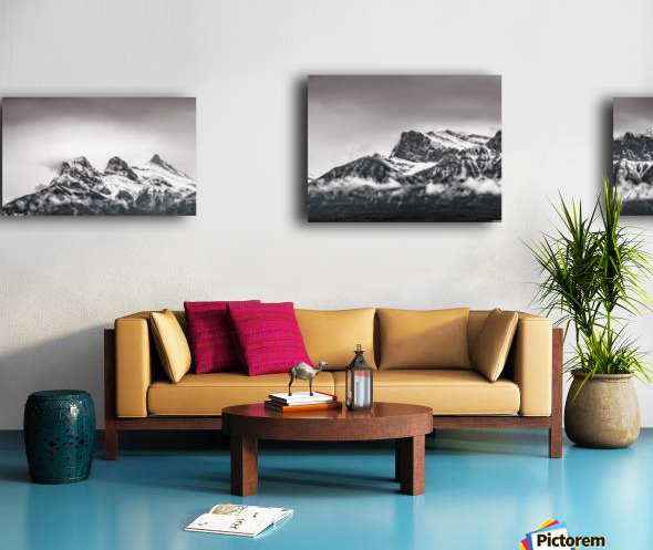 CanmoreWinter Canvas print