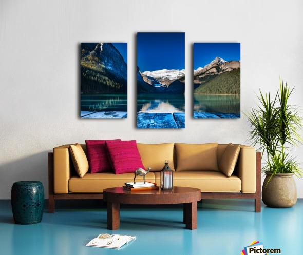 Lake Louise Dock Canvas print