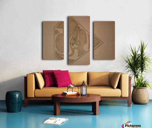 20170914_214041 SEAHAWKS Canvas print