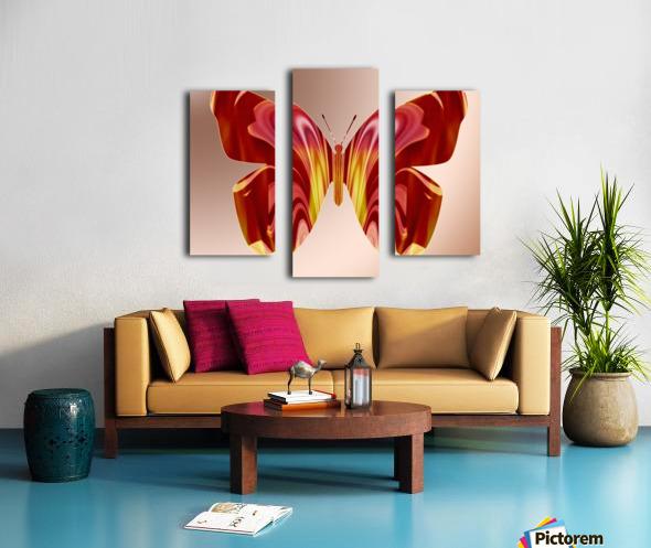 BejeweledButterfly Canvas print