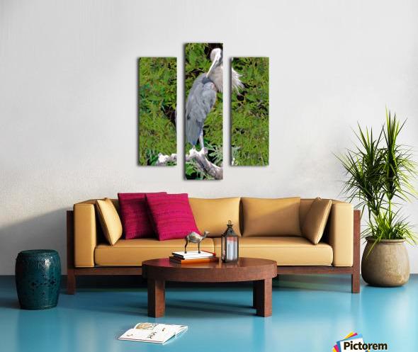 GreatBlueHeron Canvas print