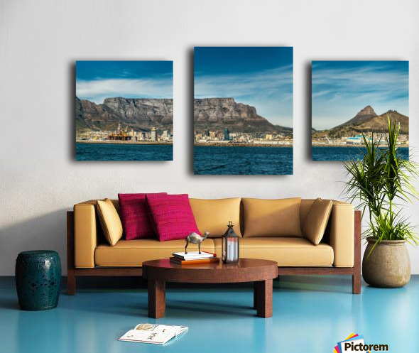 TableMtn_LionsHead Canvas print