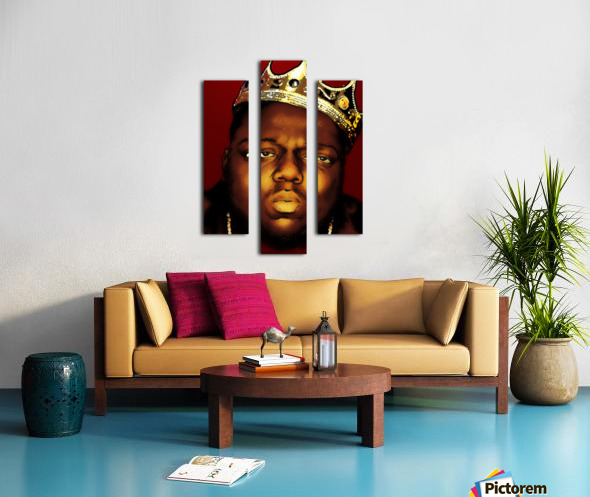 Biggie Smalls aka Notorious B.I.G Canvas print