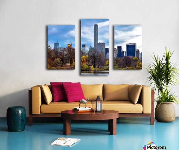 Autumn Central Park  Canvas print