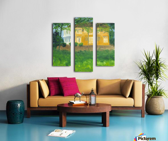 Unoccupied Estate. Canvas print