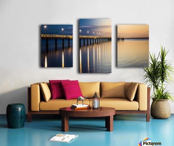 Sea Day2Night Canvas print