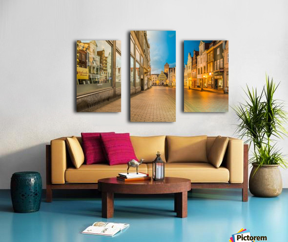 Wismar Day2Night Canvas print