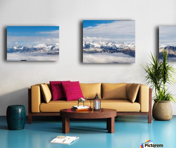 PanoramaSudTirol Canvas print