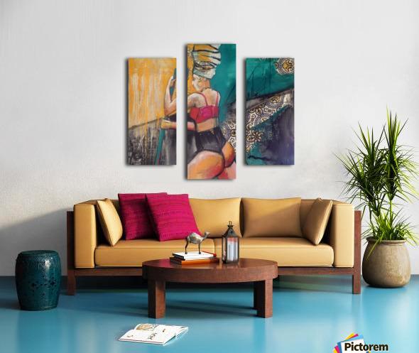 Hamam Canvas print
