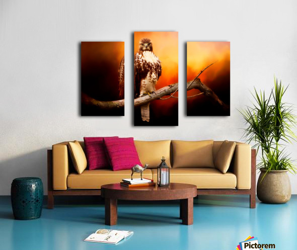 Red Threat Canvas print