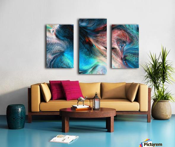 background4 Canvas print
