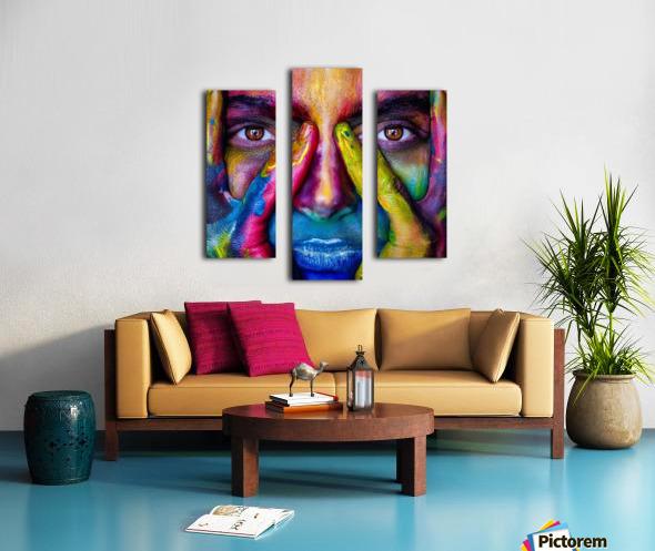 mejk Canvas print