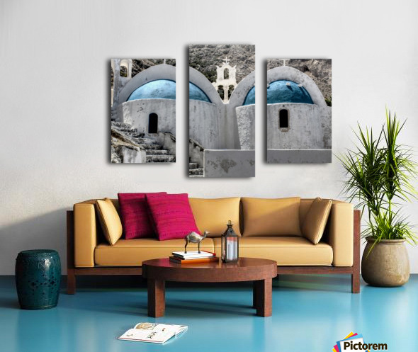 Landscape - Church Canvas print