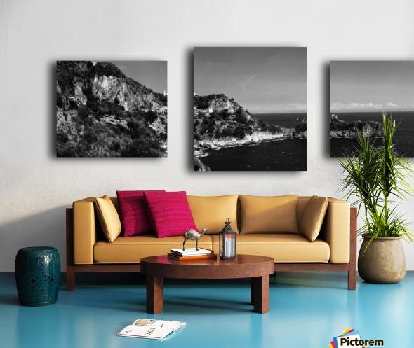 Super panoramic view Amalfi Coast - Italy Canvas print