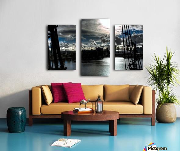 London Dramatic Sky - UK Canvas print