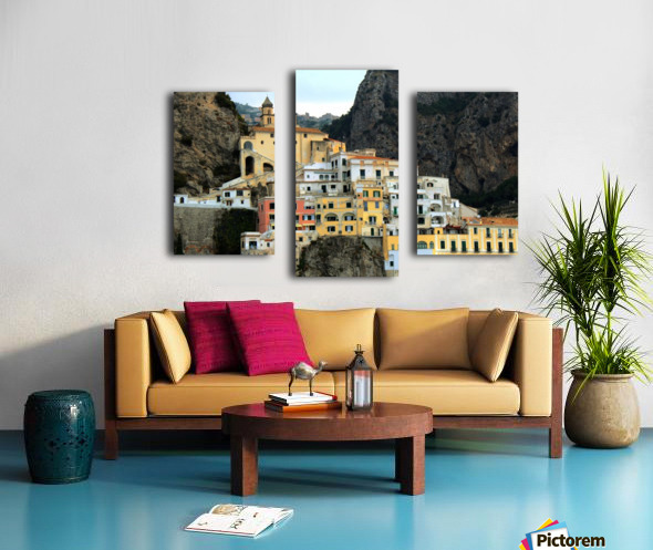 Amalfi  Old Town - Italy Canvas print