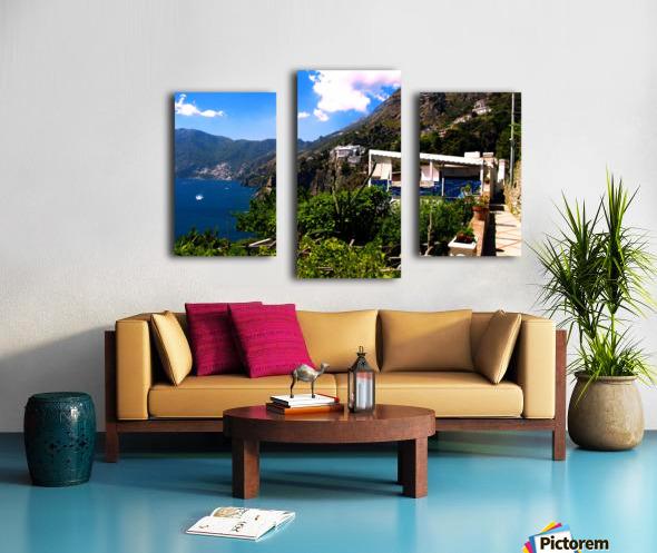 Amalfi Coast Landscape - Italy Canvas print