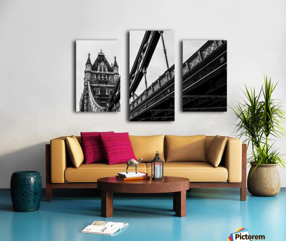 Tower Bridge Close up - London - Uk Canvas print