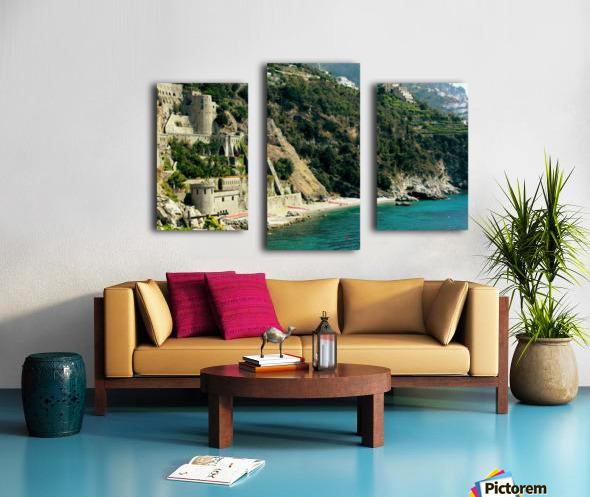 Amalfi Coast Beach - Italy Canvas print