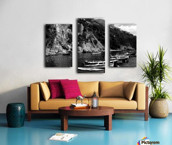 Beautiful View of Amalfi Coast Beach - Italy Canvas print