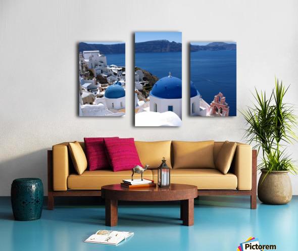 Amazing Santorini Landscape  Canvas print