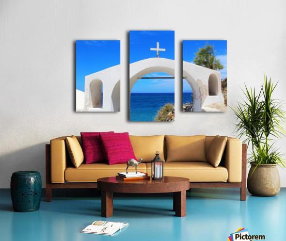 The Arch - Santorini Island Canvas print